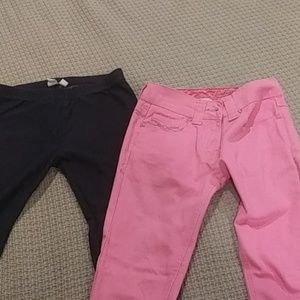 Two pairs of kids pants